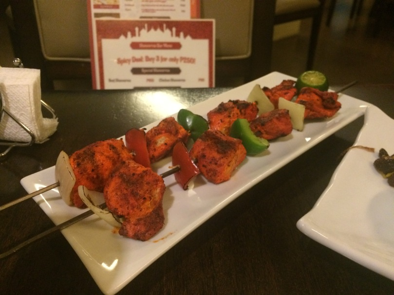 Chicken Tikka (Php 240)